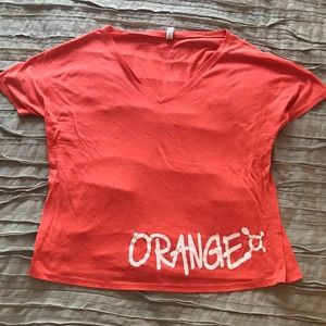 Orangetheory Fitness Oversized Orange Tee
